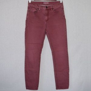 Free People Mauve Skinny Jeans Size 27